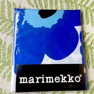 Brand New Marimekko Unikko Blue Shower Curtain
